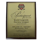 Плакетка «World Legends Hockey League» 2015/2016